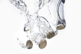 peníze voda