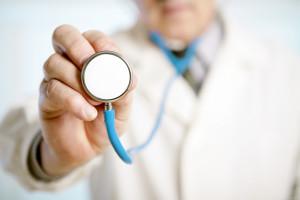stetoskop lékař