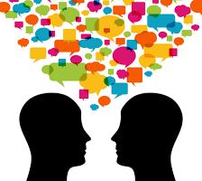 hlava mluvení