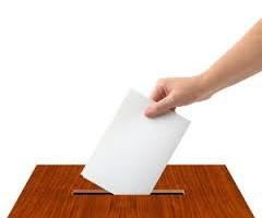 lístek volby
